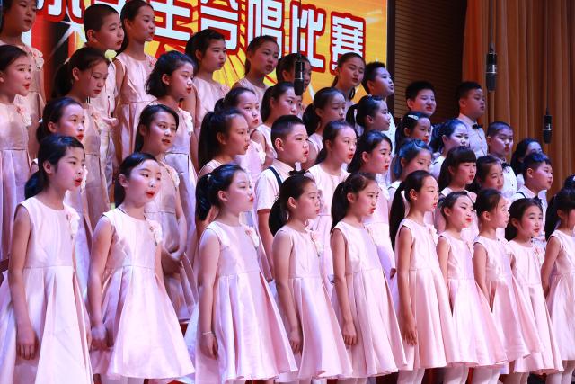 【金色童年,乘上歌声的翅膀】2017年浦口区小学生合唱图片