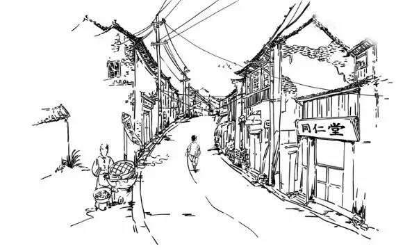 把当年老杭州人家的故事娓娓道来 70年代 一条小巷,两旁白墙黑瓦,木门图片