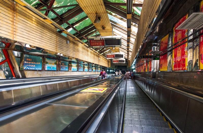 皇冠大扶梯-重庆,重庆高清图片