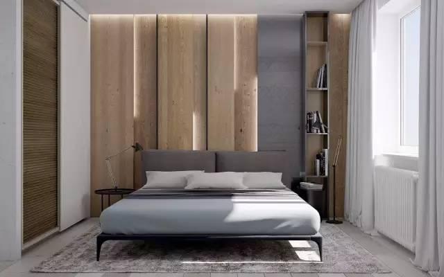床头背景墙现在都爱这么设计