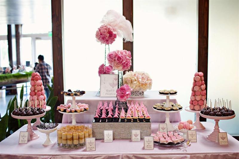 收藏贴|10种最适合婚礼摆台的甜品图片