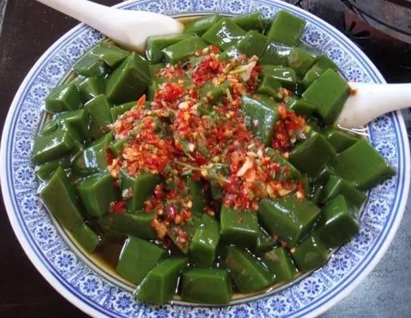 神仙豆腐——树叶做的豆腐