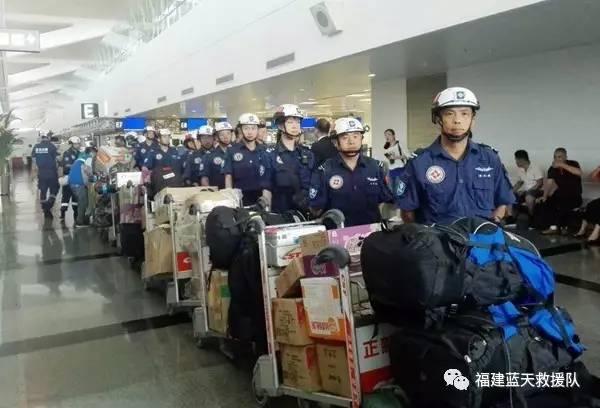 三明蓝天救援队志愿者参与斯里兰卡灾后救援!