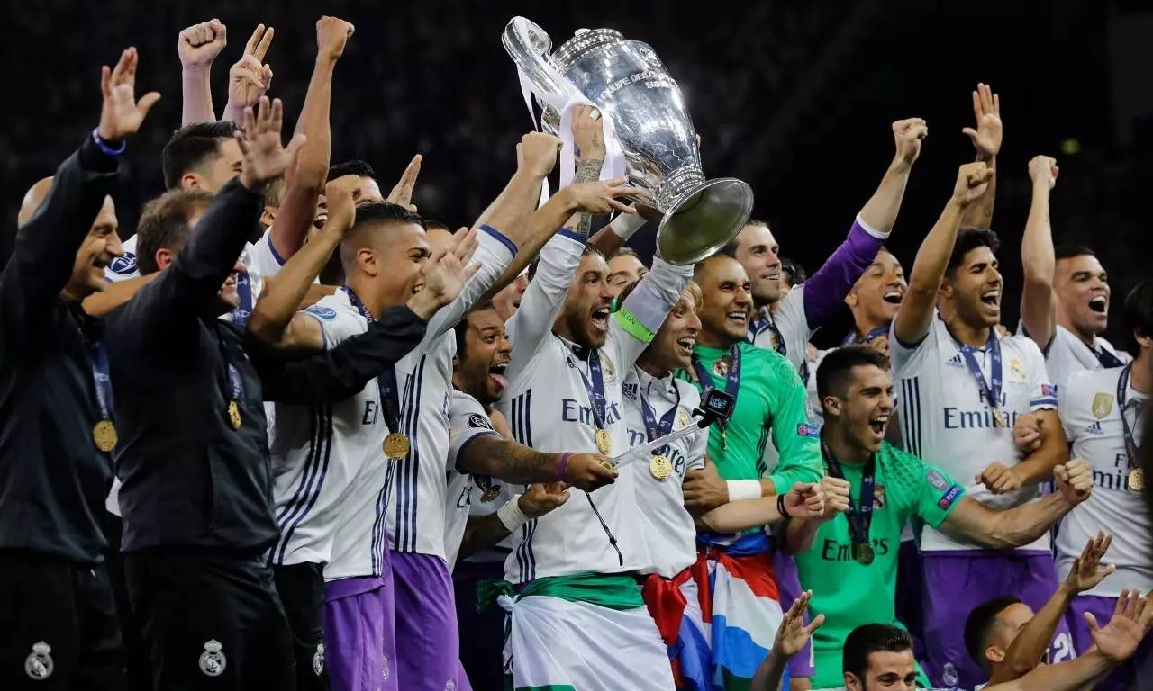 欧冠决赛皇马成功卫冕 4:1尤文图斯图片
