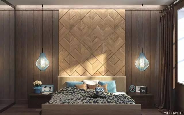 仅仅增加了几道木板          甚至连床头柜的设计图片