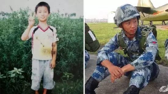 感动 汶川地震中那个举牌的小男孩真的成了空降兵