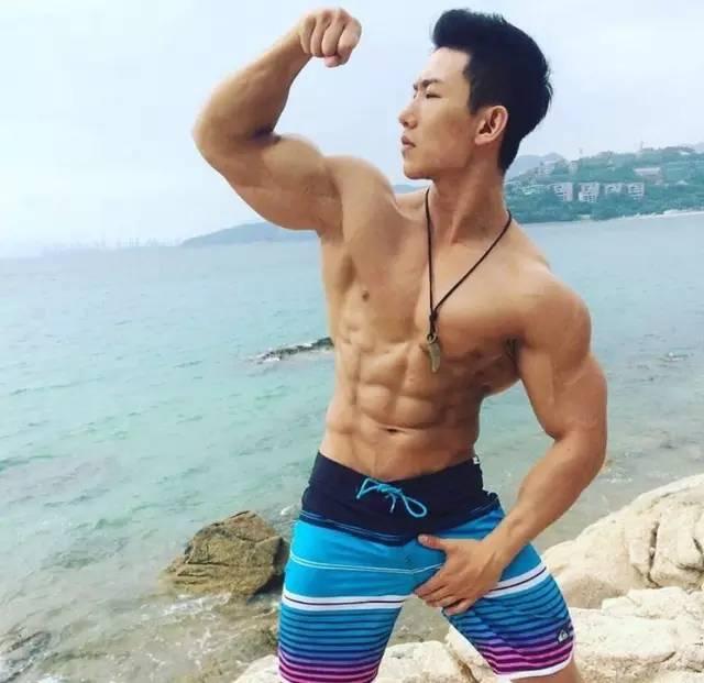 青岛健身教练王晓明