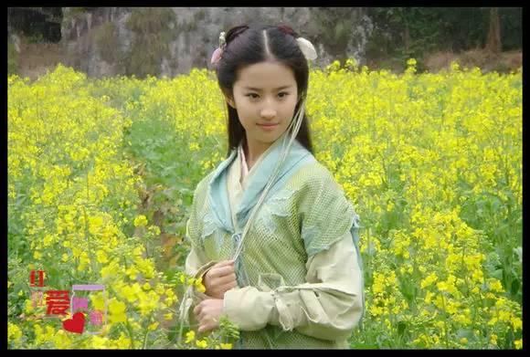 古装女子素雅清婉的造型之绿衫青衣篇