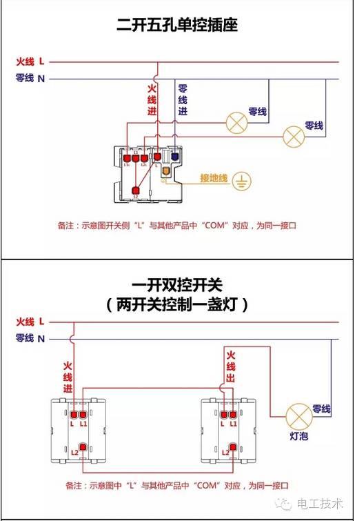 怎么看接线图呢,先把原理图读懂记熟,再看接线图就容易多了.