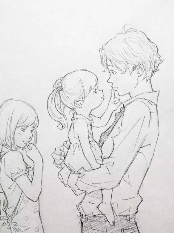 钢笔速写 --- @花二轮同学 来自重庆的插画师 他的速写线条干净