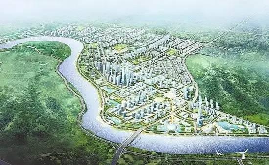 五象新区规划图