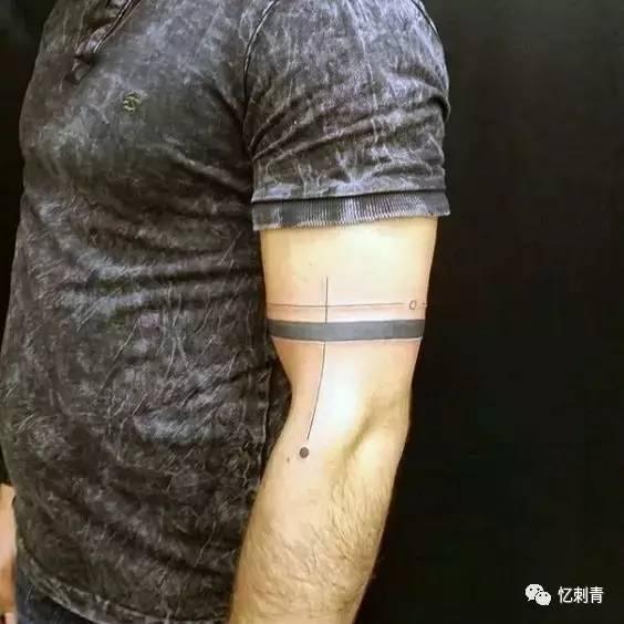 纹身素材——个性的臂环