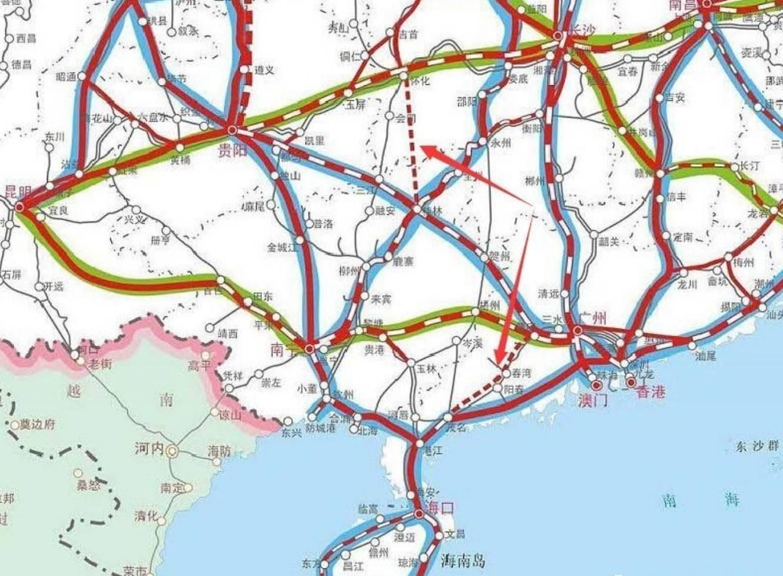 湖南怀化地图手绘