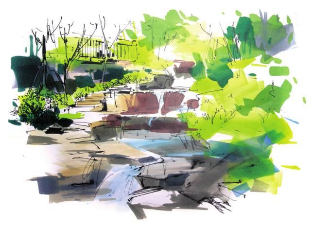 画我们想画的手绘---景观表现