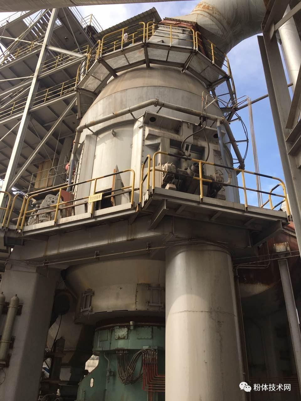 【技术】立式磨在8万吨/年重质碳酸钙粉磨工艺中的应用!