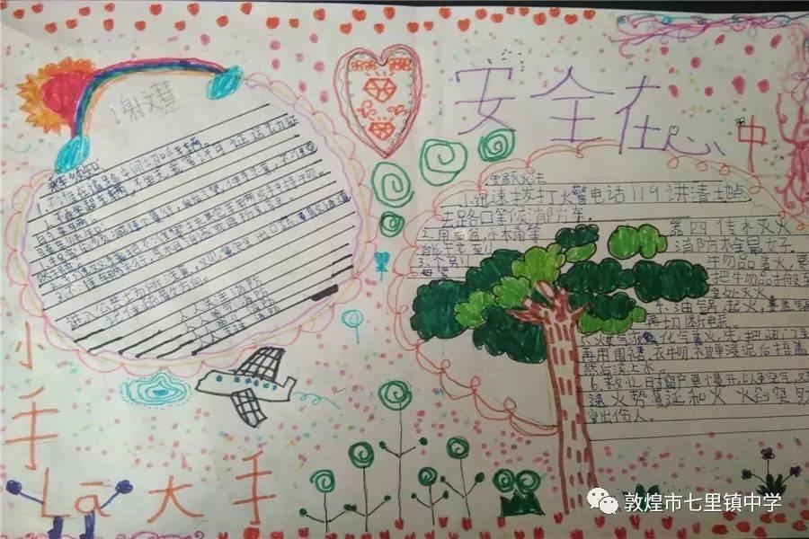 手抄报进行了奖励,鼓励学生积极参与学校组织的各项活动,为班级争光.