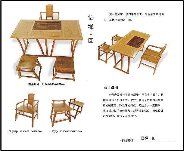 第五届国际(永安)竹具设计大赛获奖作品展示(一)图片