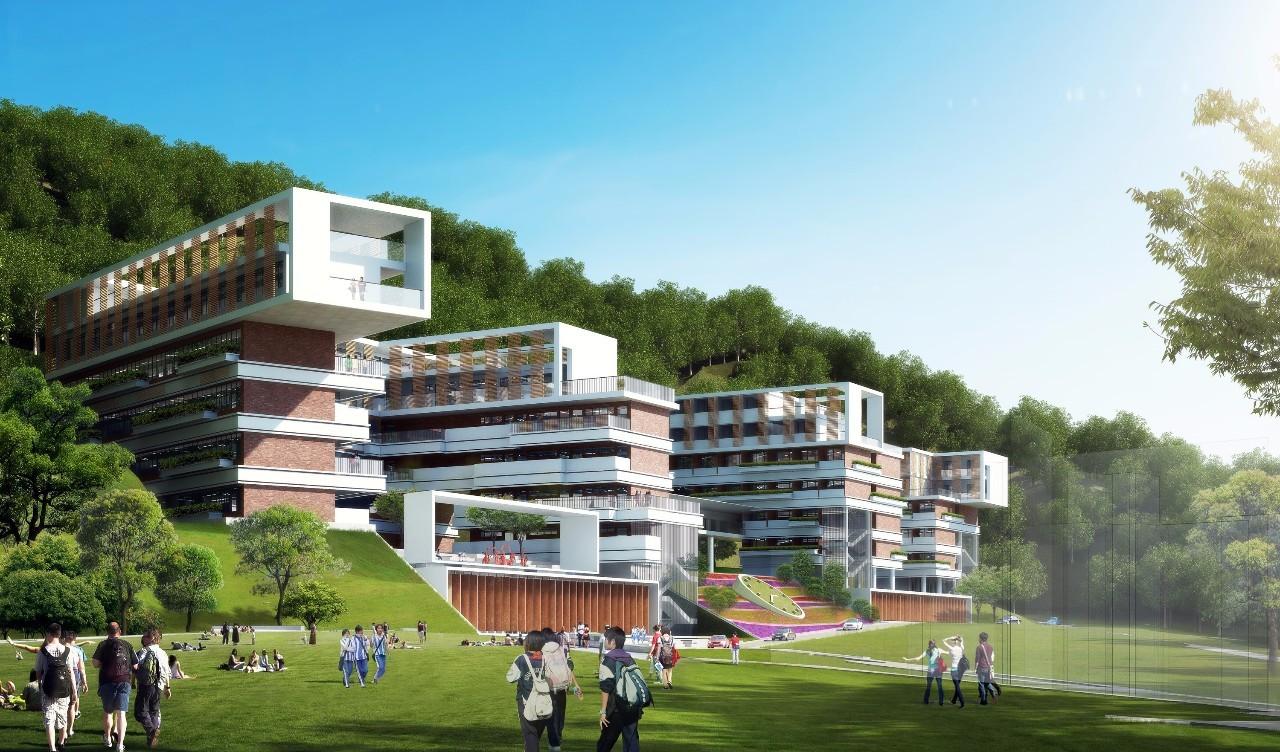 avttinof_teaching building of international high school classes