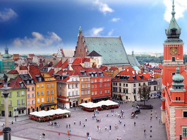 波兰华沙_波兰移民--带你去感受波兰的美