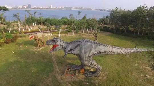 泥土恐龙手工制作图片