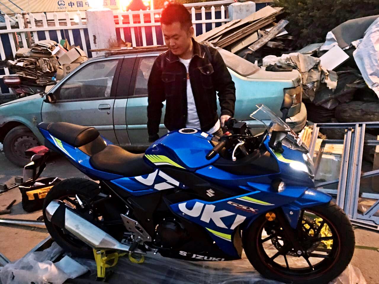 邦百草 | 铃木gsx250r「我的摩托我知道」_搜狐汽车