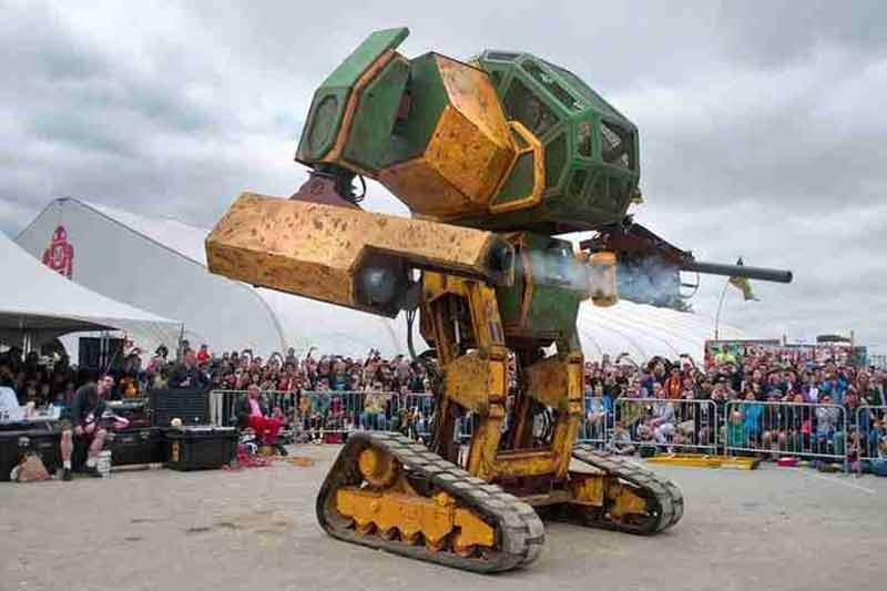 外媒眼中十大机器人发明 但我只服波士顿动力