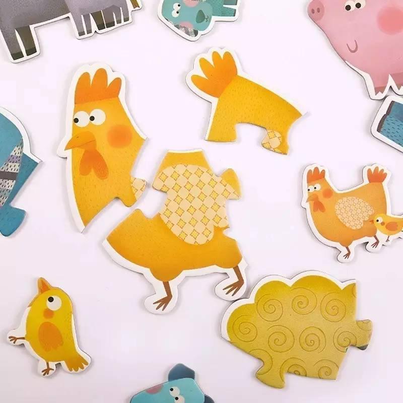 纸板动物环保手工制作