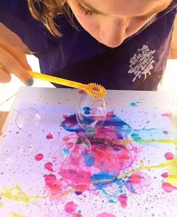 创意涂鸦 玩 泼墨 ,让孩子挥洒艺术创造力