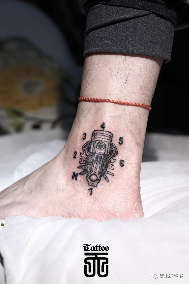 机械题材纹身
