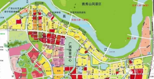 南宁五象湖新区规划图_南宁五象湖周边规划 _排行榜大全