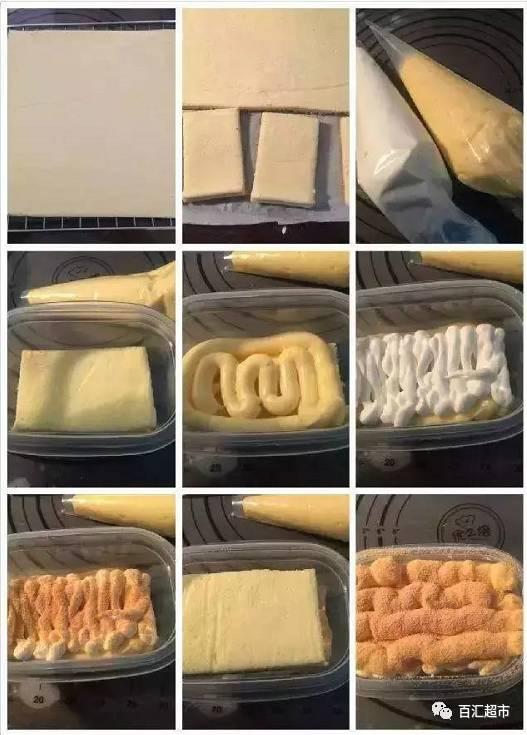 友圈的 2 款盒子蛋糕做法,好吃到流泪图片