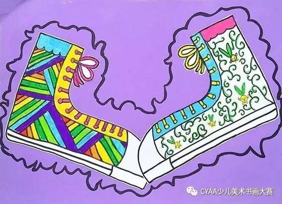 线描画鞋子图片大全展示