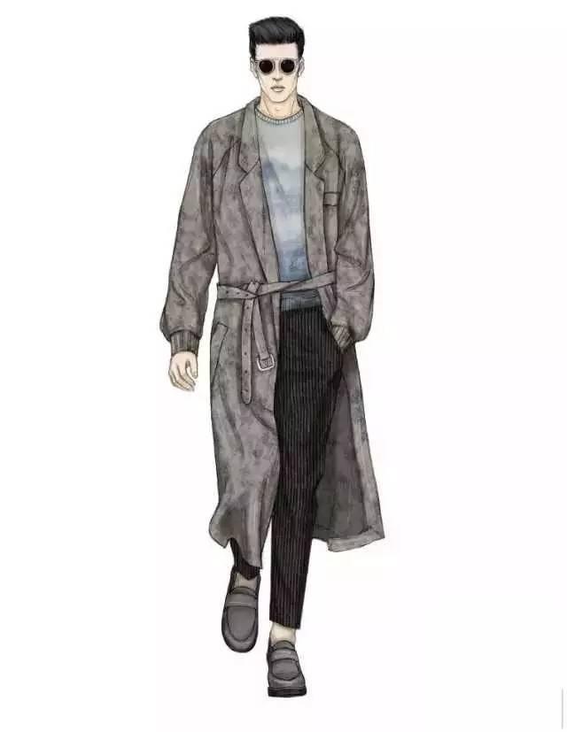 63张男装电脑手绘效果图,建议收藏!_搜狐时尚_搜狐网