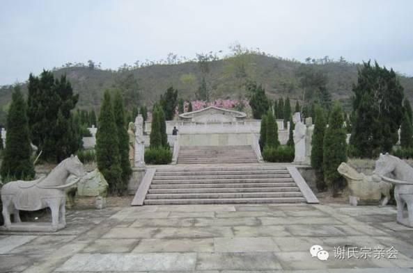 全国各地谢姓名胜古迹大盘点 包括部分名人古墓
