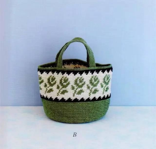 简单漂亮的编织包包,也可以很有大牌感觉!