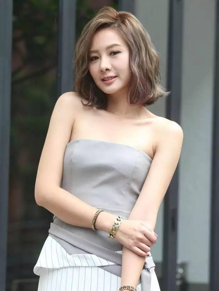 连女明星都爱的俏丽短发 谁说短发不可以是女神 现在就是流行这样的短发