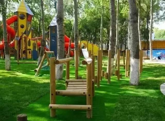 隐藏于奥森公园的顶级户外儿童拓展王国,1万㎡尽情撒欢!