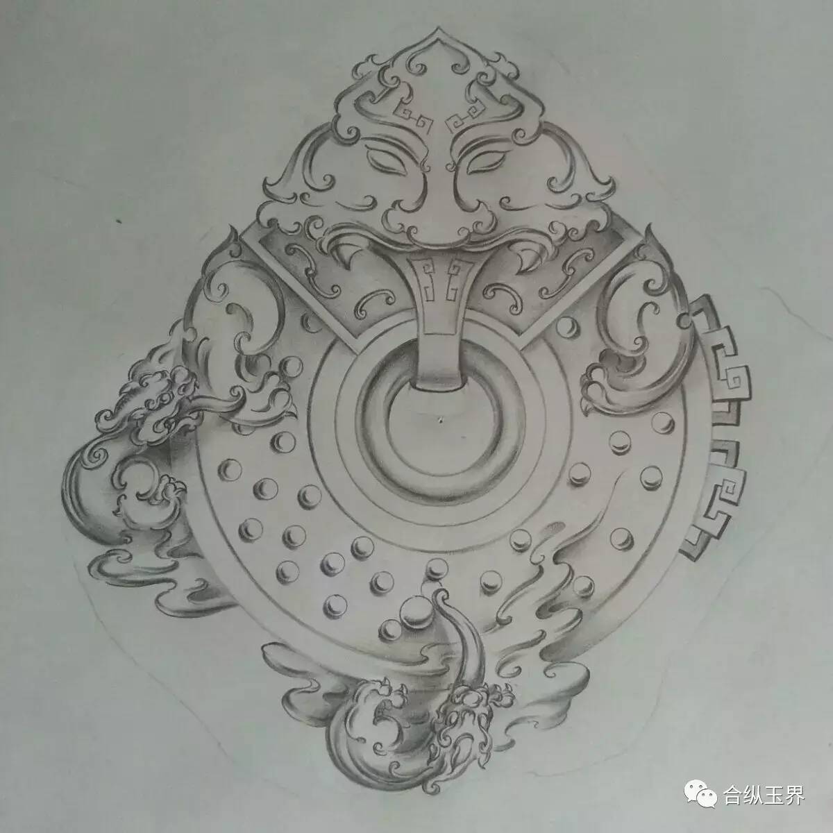速看——绝美的玉雕设计画稿!