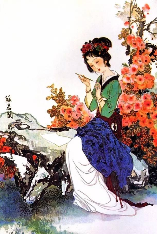 百美仕女图欣赏,尽显中国女子之美!