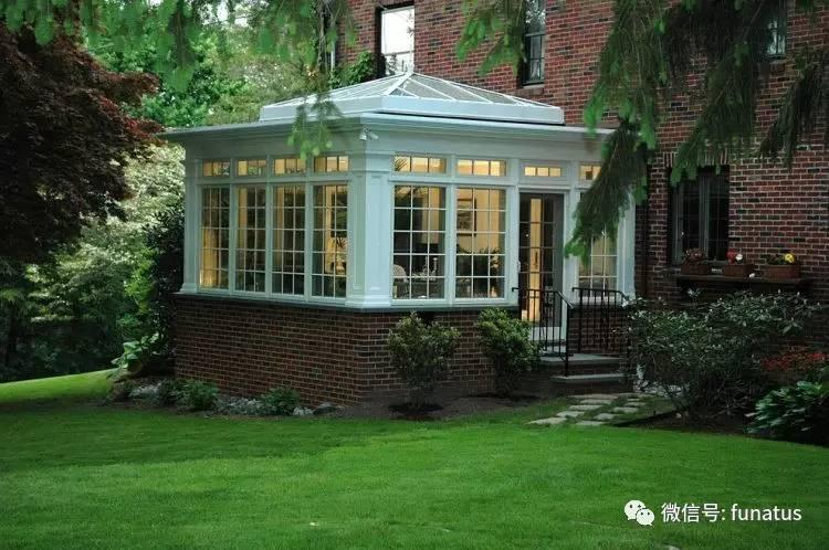 住在美国大农村,漂亮的阳光房(sunrooms)和下午茶最搭