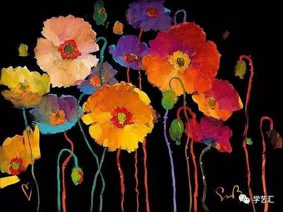 在黑夜里画一朵花的形状,如此绚烂夺目