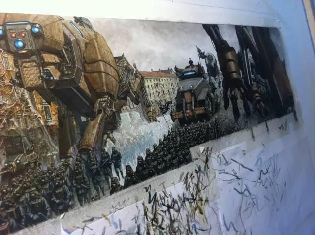 他几乎不用手绘板,却是画出了让人望尘莫及的原画