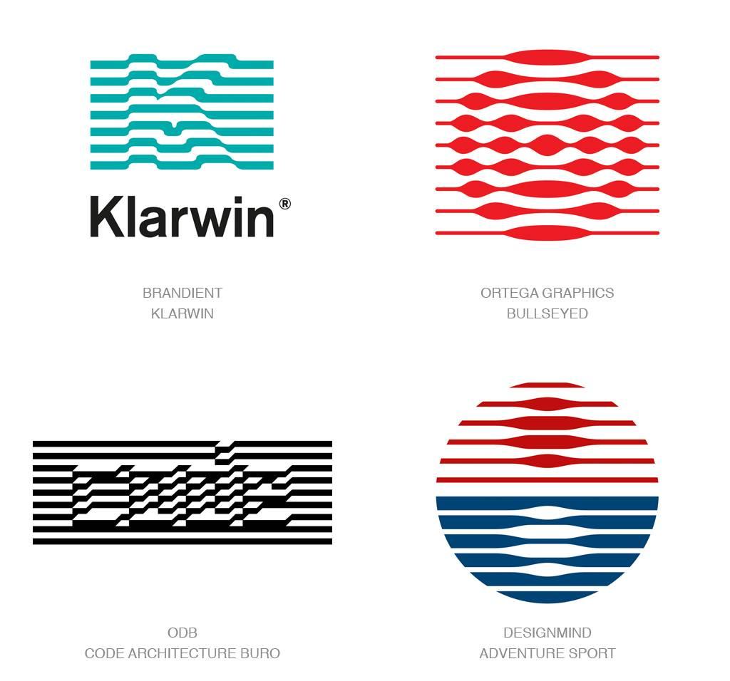 今年都流行什么设计套路?来看2017年logo设计趋势报告图片