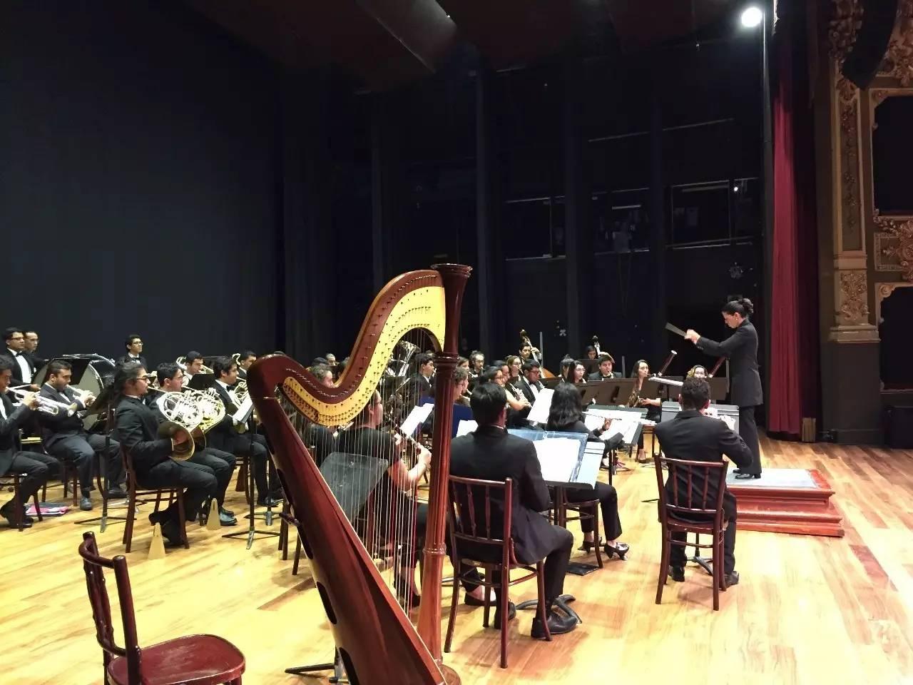 """是广州交响乐团""""琥珀""""弦乐四重奏演出,演奏者为方海燕(第一小提琴),王"""