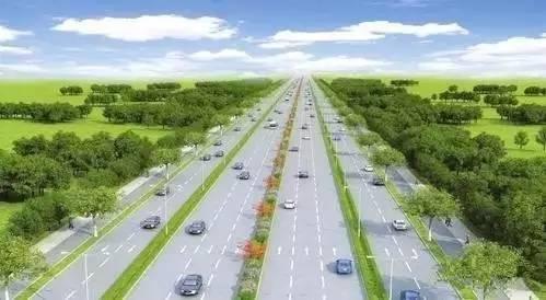 龙城大街东延、综合通道建设项目效果图-晋中将成为太原市区副中心