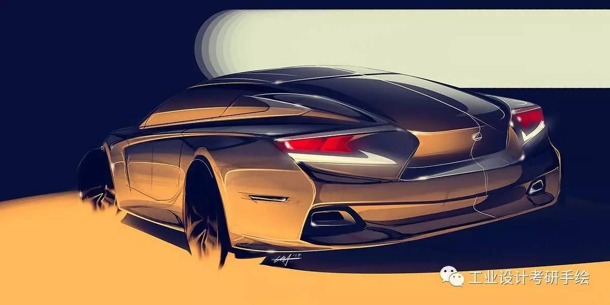交通工具--汽车设计手绘图欣赏