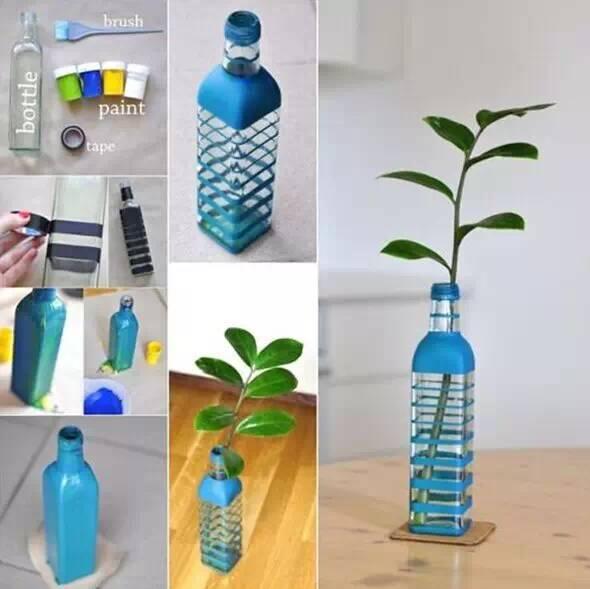 毛線球放置器/ / 變成一個收納箱/ / 自制彩虹風扇/ / 有用的瓶子圖片