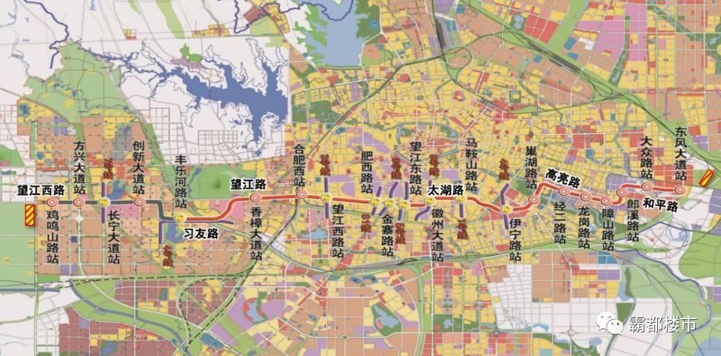 据《合肥市城市轨道交通建设规划(2018-2023)》,合肥市轨道交通