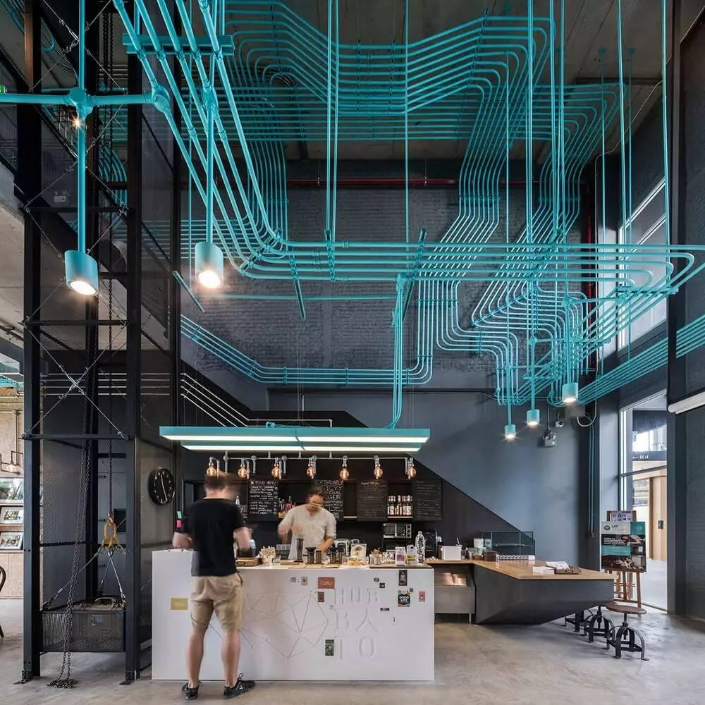 design / 曼谷咖啡馆创意空间设计
