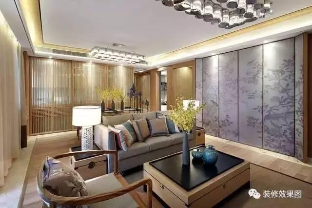 2017最流行的客厅装修风格,这里全了